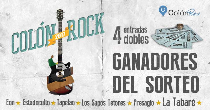 color rock 2017 sorteo GANADORES